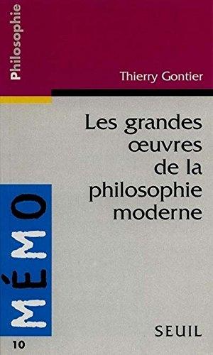 Les Grandes oeuvres de la philosophie moderne
