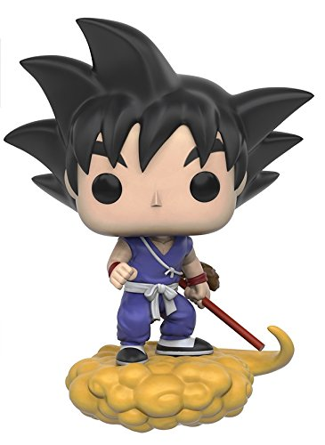 Funko 7427 Dragonball POP Vinylfigur: Dragon Ball Z: Goku und Wolke (Figur Dragon Ball Z)