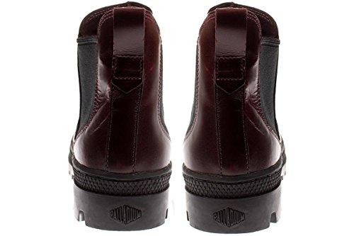 Palladium Mujer Regal Borgoña Pallabosse Chelsea Boots J84