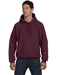 S101 Champion Adult Reverse Weave Hooded Pullover Fleece, Black, Small
