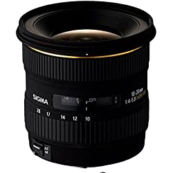 Sigma Objectif 10-20 mm F4-5,6 DC F4-5,6 EX - Monture Canon
