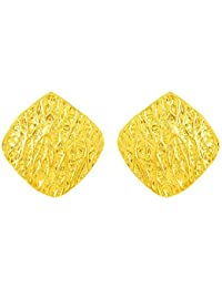 Voylla Stud Earrings With Gold Plating