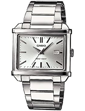 Casio Herren-Armbanduhr Collection Men Analog Edelstahl MTP-1341D-7AEF