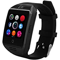 Smartwatch CHEREEKI Bluetooth Smart Watch Armbanduhr Handy-Uhr Smartwatch Android Uhr mit Kamera Schrittzähler Unterstützungs TF / SIM Karte Gebogener Bildschirm für Android Samsung Huawei HTC LG Sony