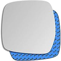 Hightecpl 197LS Left Passenger Side Convex Door Wing Mirror Glass
