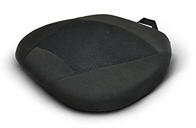 Garden Mile® Black Universal Luxury Padded Cooling Silicone Gel Seat Cushion Pad Memory Foam Side Panels For relaxed comfort For Car Van Home Office Wheel Chairs produced by Garden Mile® - quick delivery from UK.