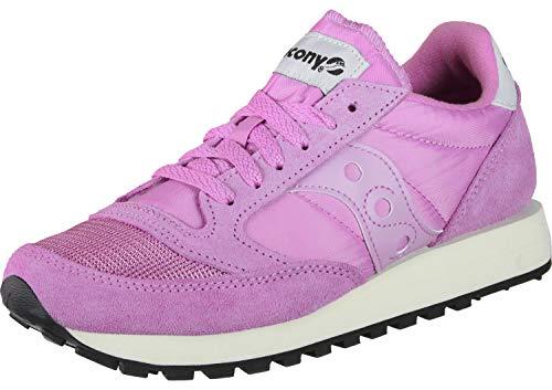 Saucony Damen Jazz Original Vintage Sneaker, Pink (Violet 74), 37.5 EU -