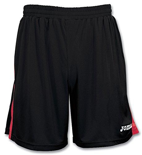 Joma Erwachsene Team Shorts Negro Rojo