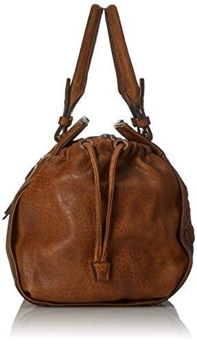 Bulaggi - Izaks Handbag, cartella Donna Marrone (Kognak)