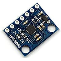 WINGONEER HMC5983 sensore di compensazione della temperatura 3-Axial bussola SPI Consiglio I2C modulo