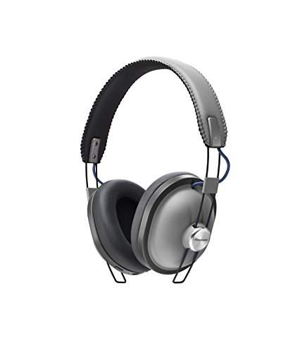 PANASONIC RP-HTX80BE-H Bluetooth Wireless Over-Ear Headphones - Grey Best Price and Cheapest