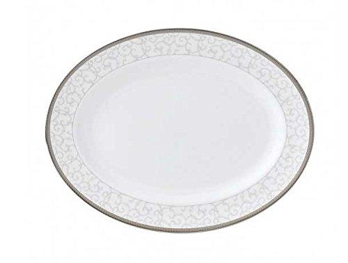 Wedgwood Celestial Platinum Oval Dish Platte 39cm (Dish Oval Wedgwood)