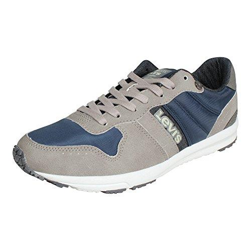 Levi's S Herren - Baylor 227240-1920-55 - Regular Grey, Schuhgröße:EUR 41