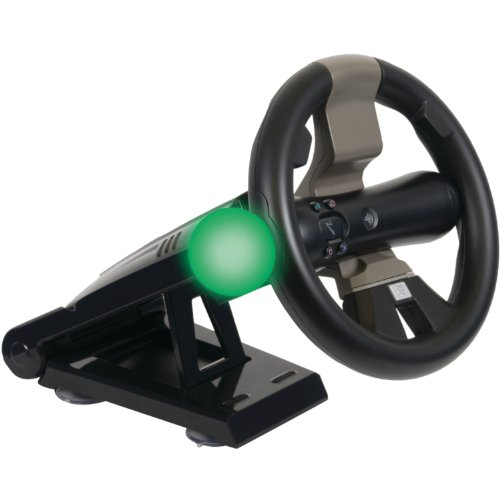PS3 Move Racing Wheel mit Standfu (Ps3-motion-racing-spiel)