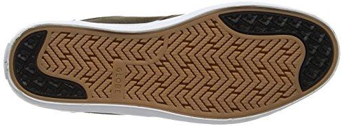 Beige Chaussures Noce Salice Scura terra De Skate Homme Globo 5BA7wqPxXq
