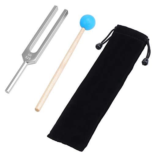 Fippy 528MI Aluminium Medizinische Stimmgabel Chakra Hammer Ball Diagnostic Medizinische Instrumente Klangtherapie-Tool Set