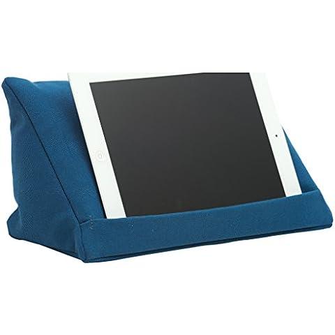 coz-e-reader TC1544 - Soporte de tipo almohada para tablet, azul