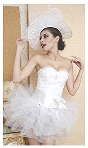 mondial-fete–Corsage White Swan (Swan Kostüme)
