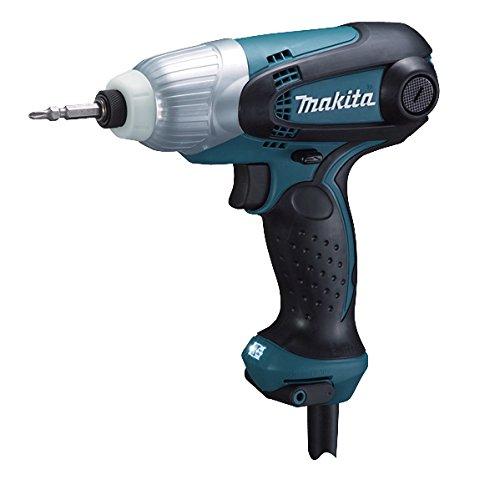 Makita TD0101F Avvitatore a Percussione, 230 W, 230 V, Blu, Nero