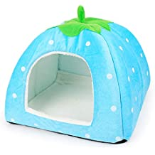 YXYP Impression 1 PCS Casa de Mascotas Suministros de Forma de Fruta Caseta de Perro Casa