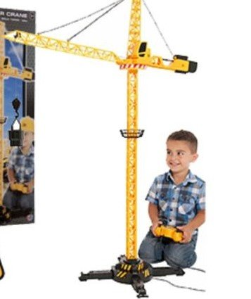 Great Gift For Kids ! Remote Control Tower Crane / Toys Play Game Toddler Boys Girls Unisex Cool Educational Shop Store Christmas XMAS Classic Popular Unique Preschool Discount Child Childrens Creative Learning Building Special Present Rare