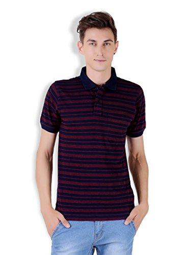 Tapasya Navy Red Polo T-Shirt
