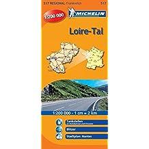 Loiretal (Michelin Regionalkarte)