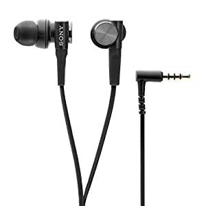 Sony Extra Bass MDR-XB50AP In-Ear Headphones with Mic (Black)