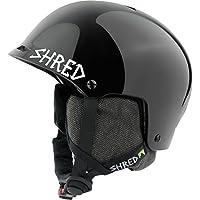 Shred Casco Half Brain D de Lux Black Out, Black, XS/S, dhehabg51