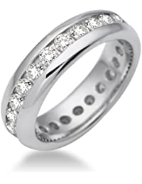Miore Damen-Ring Memoire 925 Sterling Silber Zirkonia Gr. MSM089R