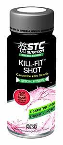 STC NUTRITION -KILL FIT SHOT: Brûle graisses et énergie - 20 flacons de 60 ml - Fruits Rouges