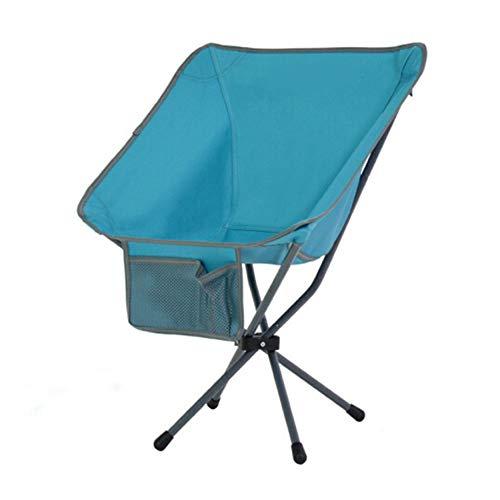 ZSLLO Campingstuhl Denim Outdoor tragbare klappstuhl Rucksack Stuhl Mini rückenlehne Angeln mond Stuhl Direktor skizzieren faul Strand Camping Stuhl (Last lager120kg) Klappstuhl (Farbe : C) - Stuhl Denim