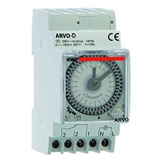 Vemer vp882500Zeitschalter elektromechanisch arvo-d Tägliche-Hutschiene, grau