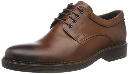 ECCO Herren Newcastle Oxfords, Braun (Mink 2014), 46 EU Ecco Business Comfort