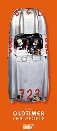 Oldtimer - Car People - Kalender 2018 - DuMont-Verlag - Wandkalender - 33,8 cm x 68,5 cm