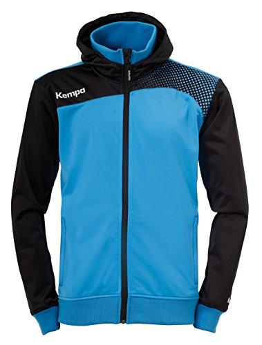 Kempa Jacke Emotion Kapuzenjacke, Kempablau/Schwarz, XL, 200212801