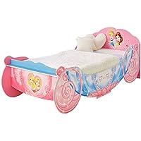 Disney Prinzessin Kutsche, Einzelbett, Holz, pink preisvergleich bei kinderzimmerdekopreise.eu
