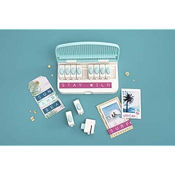 We R Memory Keepers 661599 Wortstanzbrett-Werkzeug, mehrfarbig