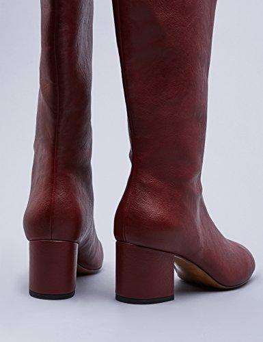 FIND Burgess Damen Stiefel Rot (Dk Red)