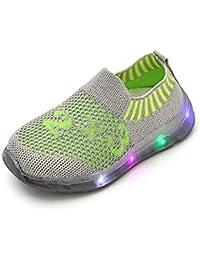 FRAUIT Scarpe Per Bambini Con Luci Sneakers Bambino Estive Scarpe Con Led  Bimba Scarpe Da Corsa 8ac1425b4fd