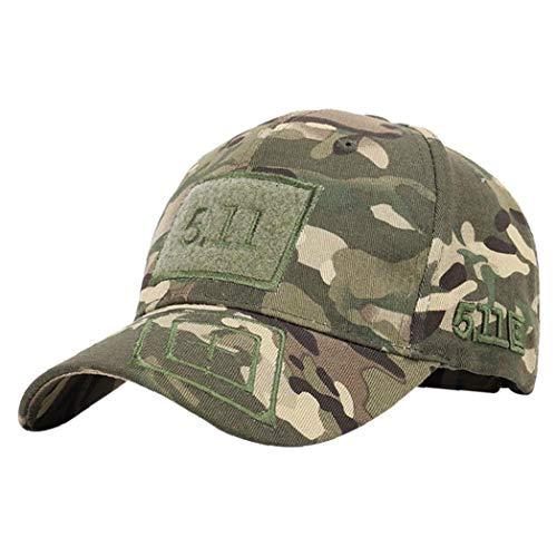 Bontand Unisex Camouflage-Flecken Baseballmütze 511 Tactical Caps Außen UV-Schutz Mountaineering Gelegenheits Hut Für Frauen Männer