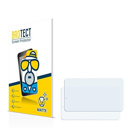 BROTECT Schutzfolie Matt für TrekStor SurfTab xiron 7.0 3G Displayschutzfolie [2er Pack] - Anti-Reflex Displayfolie, Anti-Fingerprint, Anti-Kratzer
