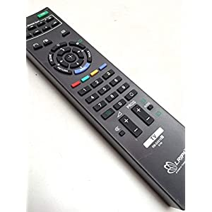 CVANU Indiashopers Inds-1109 Universal LED/LCD TV Remote Control for Sony Bravia (sonyurc-67, Black)