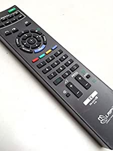 CVANU URC-67 Universal LED/LCD TV Remote Control for Sony Bravia (Black)