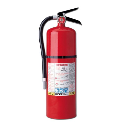 FIRE EXTINGUISHER  RECHARGEABLE  IMPACT RESISTANT 10 LBS RED  SOLD AS 1 EACH
