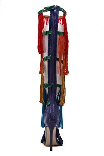 GS~LY Geschenk der Mutter Tages Quaste Kampf High Heels color
