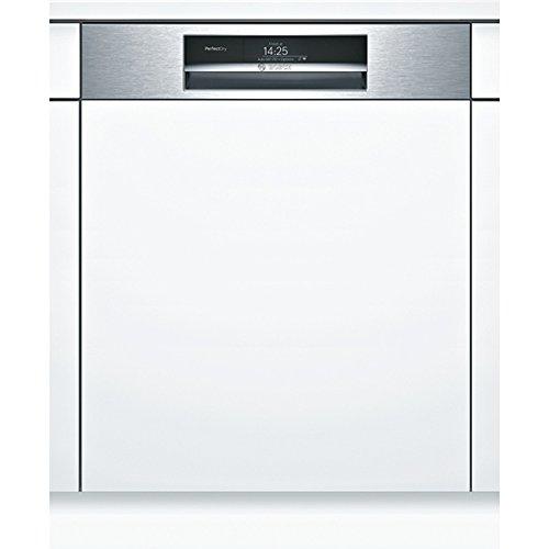 BOSCH - Lave-vaisselle 60cm 14 couverts a+++ zéolite intégrable avec bandeau apparent inox - PERFECTDRY HOME CONNECT - SMI88TS46E