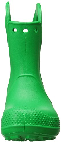 Crocs Handle It Rain Boot, Bottes Mixte Enfant Vert (Grass Green)
