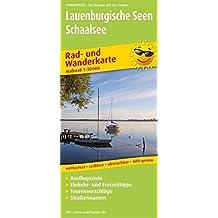 Lauenburgische Seen - Schaalsee: Rad- und Wanderkarte mit Ausflugszielen, Einkehr- & Freizeittipps, wetterfest, reissfest, abwischbar, GPS-genau. 1:50000 (Rad- und Wanderkarte / RuWK)