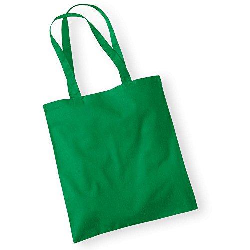 Westford Mill Tragetasche, Unisex-Design WM101KELL Promo-Tasche, langlebig, Kelly-Grün, Einheitsgröße (Ausrüstung Tragetasche)